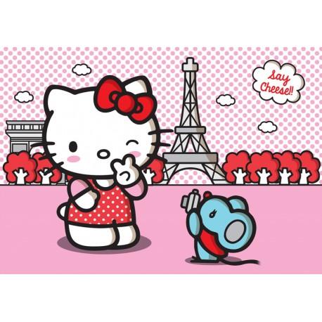 Fototapet Hello Kitty pentru camere copii