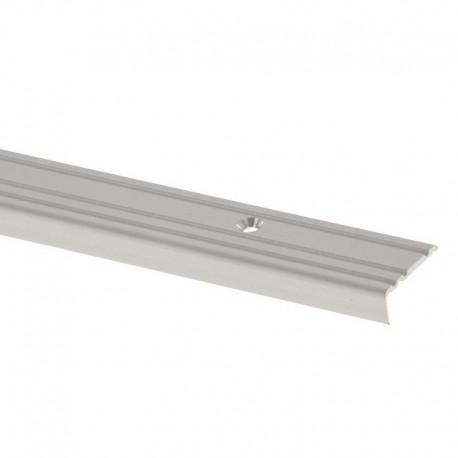 Profil treapta antiderapant Arbiton PS1 argintiu 25x10mm