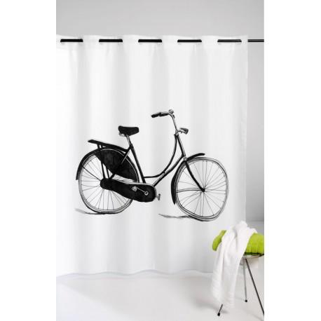 Perdea dus alba Bicicleta Retro 180 x 200cm