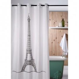 Perdea dus alba Turn Eiffel 180 x 200cm
