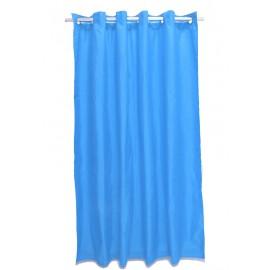 Perdea dus uni albastra Magica lisa 180 x 200cm