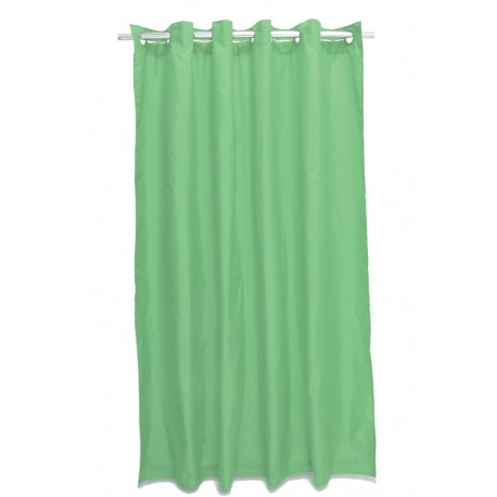 Perdea dus uni verde Magica lisa 180 x 200cm