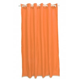 Perdea dus uni portocalie Magica lisa 180 x 200cm