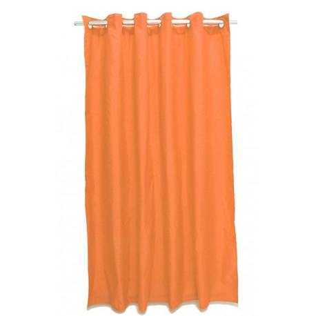 Perdea dus portocalie Magica lisa 180 x 200cm