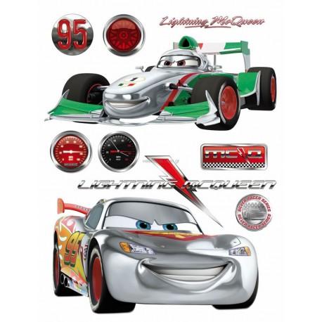 Stickere Cars 7 pentru perete camera copii - Fulger McQueen