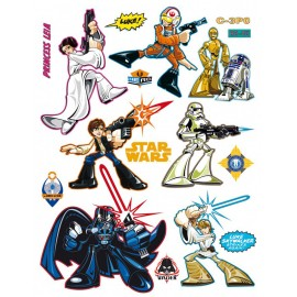 Stickere personaje Star Wars pentru perete camera copii