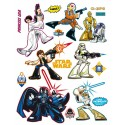 Stickere perete personaje Star Wars pentru camere copii