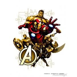 Sticker personaje The Avengers pentru perete camera copii