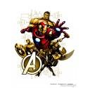 Sticker perete personaje The Avengers pentru camere copii