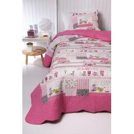 Cuvertura pat copii Princess pentru dormitor fete