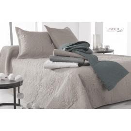 Cuvertura pat Ceylan gri-fildes