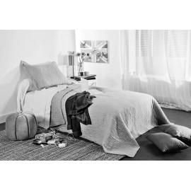 Cuvertura pat copii Mikado gri deschis