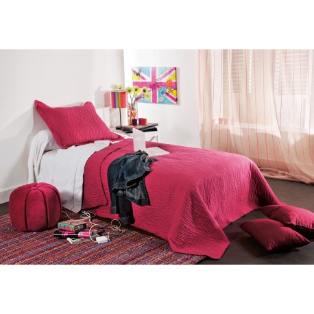 Cuvertura pat copii Mikado rosu zmeura