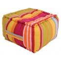 Perna decorativa podea Ventura Multicolor 40x40x30cm