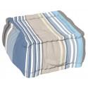 Perna decorativa podea Santacruz albastra 40x40x30cm