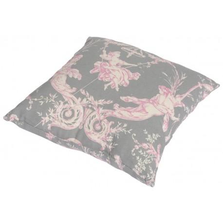 Perna decorativa Montespan gri-roz