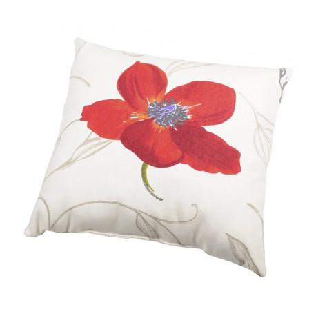 Perna decorativa Appoline cu floare de mac