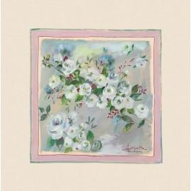 Perna decorativa Rosagathe 1 cu trandafirasi Shabby Chic