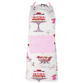 Sort de bucatarie Picadilly cu torturi si buzunar roz
