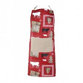 Sort de bucatarie Montagne Enduit Wool rosu