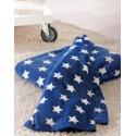 Patura albastra STARS cu stelute albe