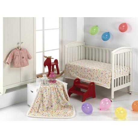 Paturica bebelusi Globos cu buline colorate