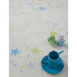 Paturica bebelusi Stelute colorate albastru-verde