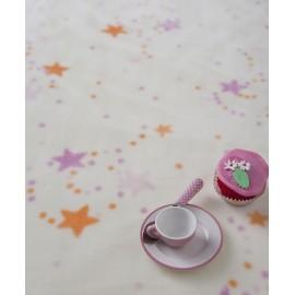 Paturica bebelusi Stelute colorate roz-mov