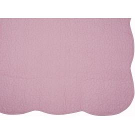 Cuvertura pat Castille roz lila