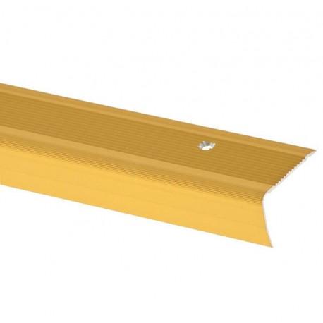 Profil treapta antiderapant Arbiton PS4 auriu 40x27mm 180cm