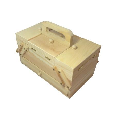 Cutie lemn pentru accesorii handmade