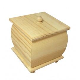 Cutie lemn cufar patrat