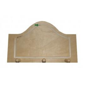 Cuier din lemn cu 3 agatatori
