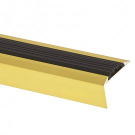 Profil treapta antiderapant Arbiton PS6 auriu 46x27mm 270cm
