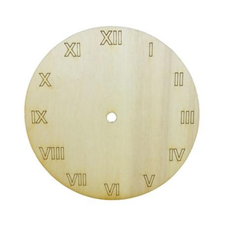 Cadran ceas de perete rotund cu cifre romane