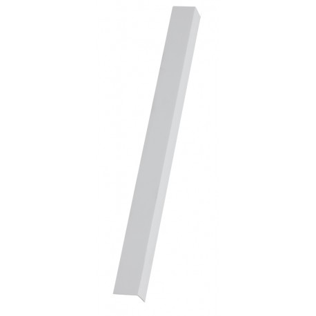 Profil PVC protectie colt 20x20mm - alb