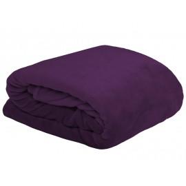 Patura Doudou violet pufoasa