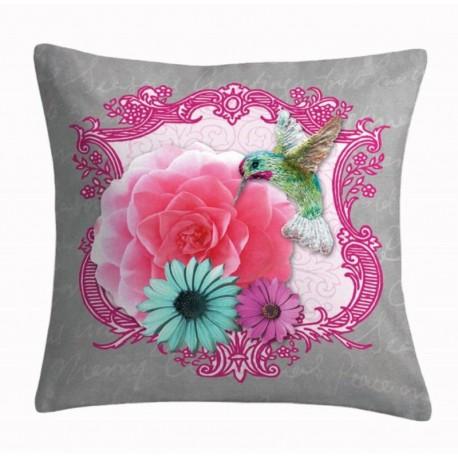 Perna decorativa Colorama 3 cu pasare colibri