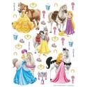 Stickere perete Walt Disney - Printese cu cai