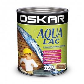 Oskar Aqua Lac pentru lemn Wenge - mostra culoare