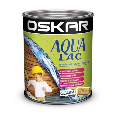 Oskar Aqua Lac pentru lemn Stejar auriu pe baza de apa