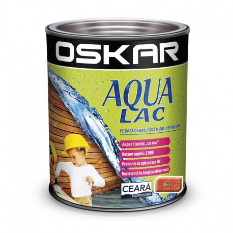 Oskar Aqua Lac pentru lemn Cires pe baza de apa