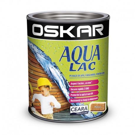 Oskar Aqua Lac pentru lemn Mahon pe baza de apa