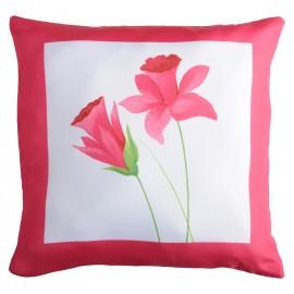 Perna decorativa Narciso 3 cu narcise rosii