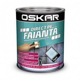 Vopsea Oskar Direct pe Faianta Bleu Topaz