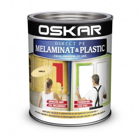 Vopsea Oskar Direct pe Melaminat si Plastic Galben Vanilla