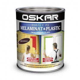 Vopsea Oskar Direct pe Melaminat si Plastic Maro Dark Chocolate