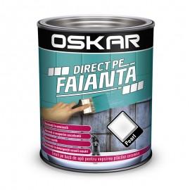 Vopsea Oskar Direct pe Faianta Alb Pearl