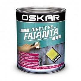 Vopsea Oskar Direct pe Faianta Verde Emerald