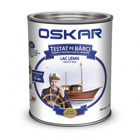 Lac pentru lemn Oskar Yacht 3 in 1 Cires japonez 0.75L